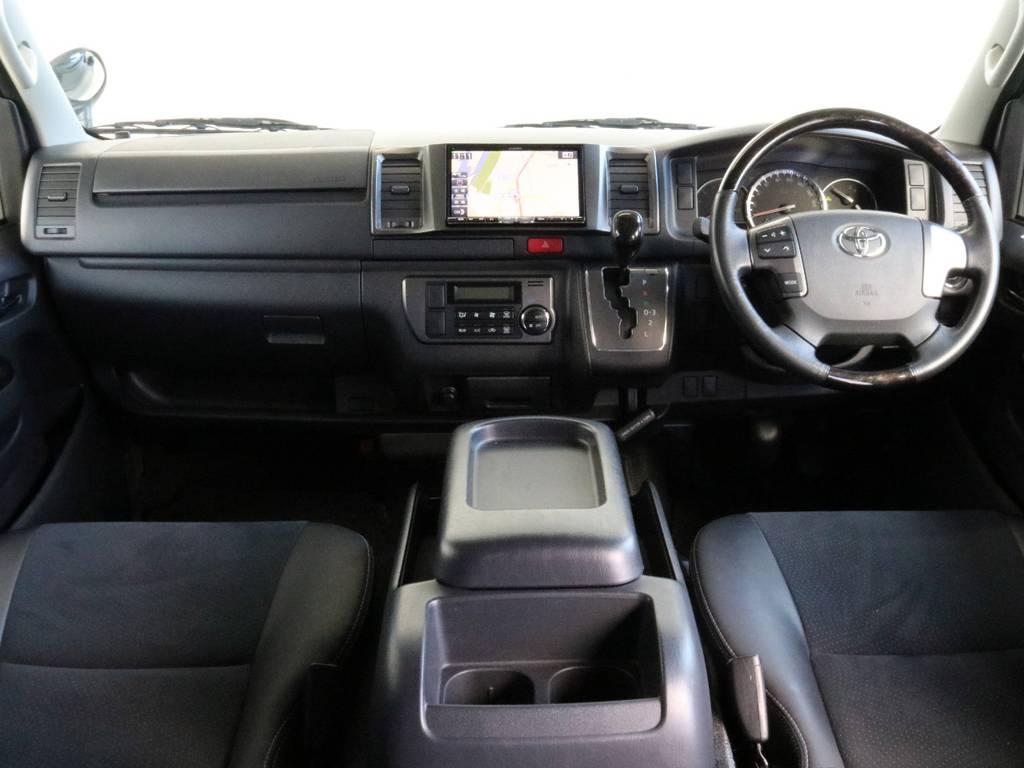 特別仕様車専用内装です! | トヨタ ハイエースバン 3.0 スーパーGL ダークプライム ロングボディ ディーゼルターボ 4WD