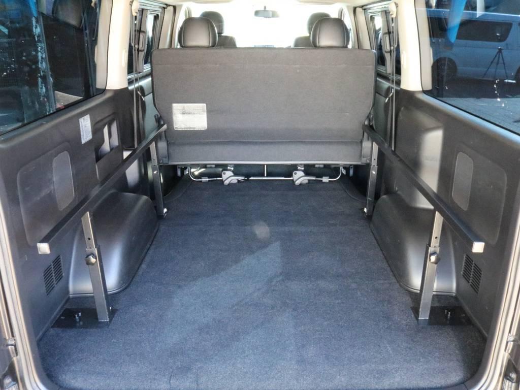 ベッドキット取り外し可能です! | トヨタ ハイエースバン 3.0 スーパーGL ダークプライム ロングボディ ディーゼルターボ 4WD