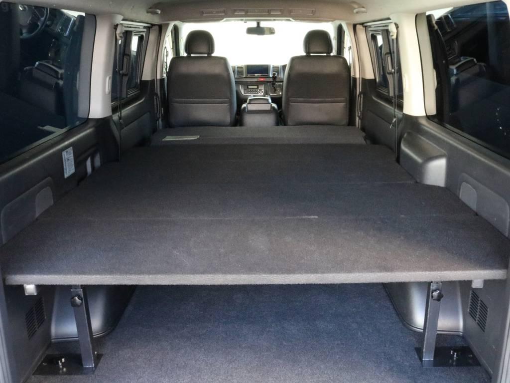ベッドキット搭載してます!! | トヨタ ハイエースバン 3.0 スーパーGL ダークプライム ロングボディ ディーゼルターボ 4WD
