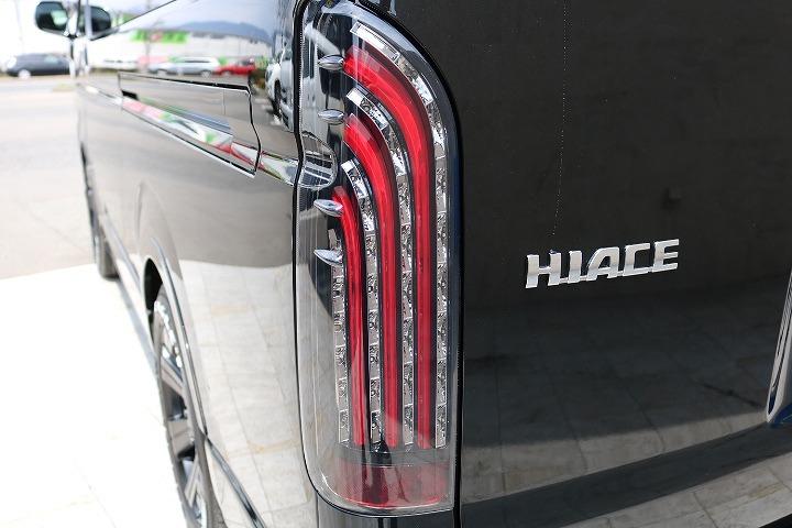 FLEXオリジナル煌LEDテールランプ! | トヨタ ハイエース 2.7 GL ロング ミドルルーフ 4WD R1内装架装車両