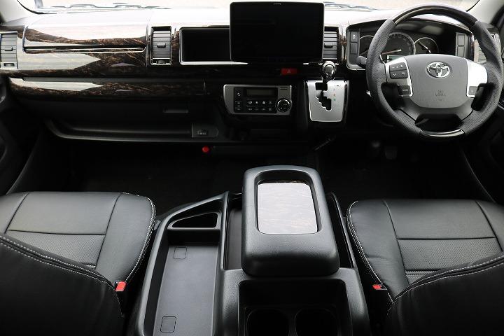 インテリアパネル! インテリアシフトノブ! インテリアコンビステアリング!アルパイン11インチナビ! | トヨタ ハイエース 2.7 GL ロング ミドルルーフ 4WD R1内装架装車両