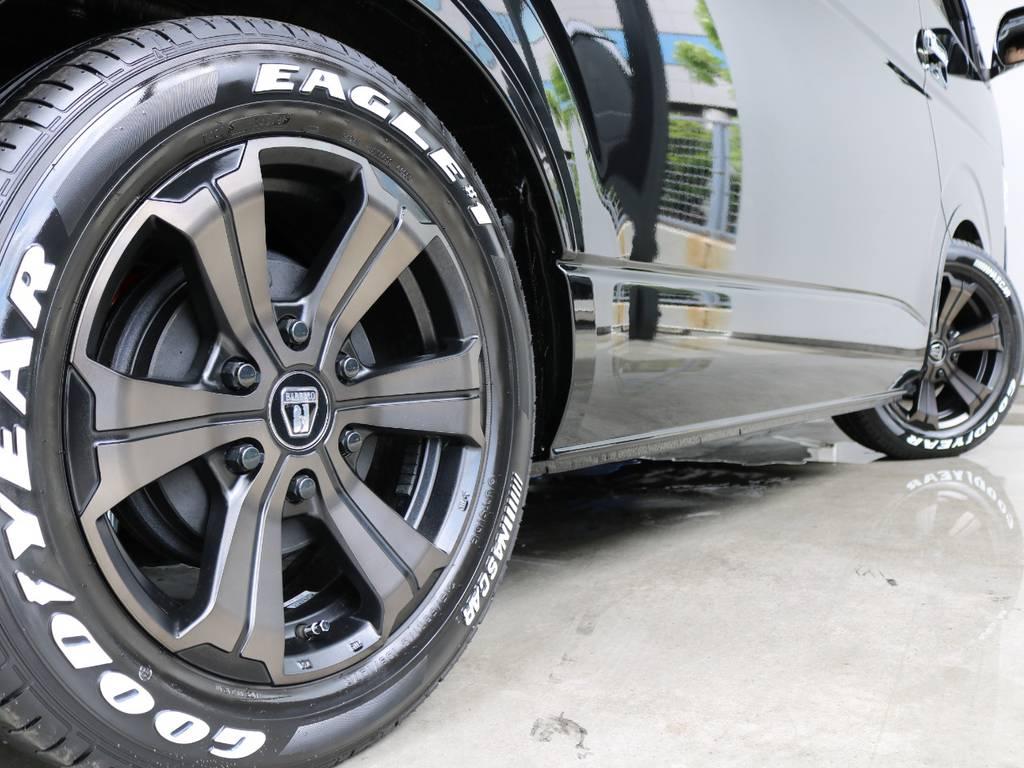 バルベロディープス17インチAW/グッドイヤーナスカー17インチタイヤ