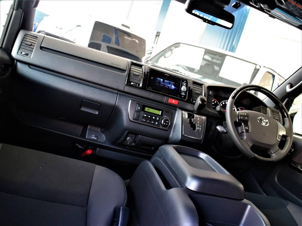 特別仕様車専用内装です!   トヨタ ハイエースバン 2.8 スーパーGL ダークプライムⅡ ロングボディ ディーゼルターボ 4WD