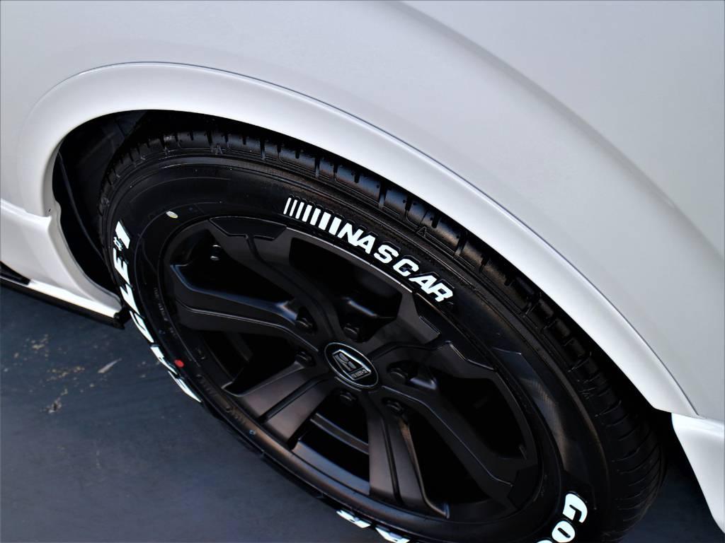 CRSリーガルフェンダー!   トヨタ ハイエースバン 2.8 スーパーGL ダークプライムⅡ ロングボディ ディーゼルターボ 4WD