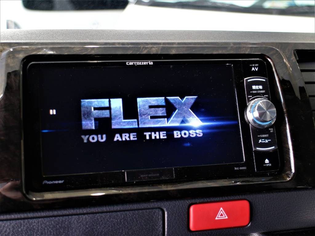 ※音楽録音・DVD再生・フルセグ・Bluetooth接続可!   トヨタ ハイエースバン 2.8 スーパーGL ダークプライムⅡ ロングボディ ディーゼルターボ 4WD