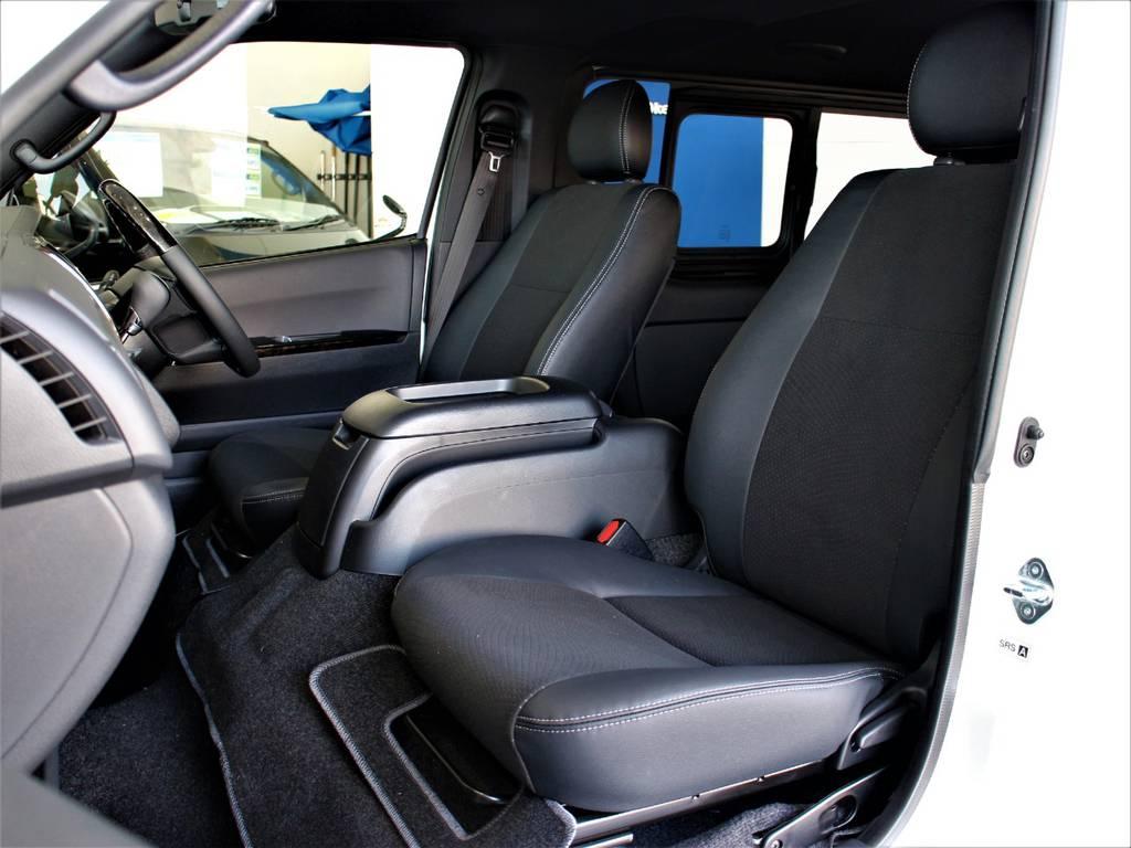 特別仕様車専用シートです!   トヨタ ハイエースバン 2.8 スーパーGL ダークプライムⅡ ロングボディ ディーゼルターボ 4WD