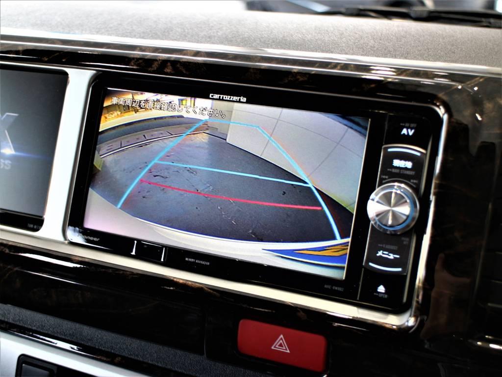 バックモニター連動加工済! | トヨタ ハイエース 2.7 GL ロング ミドルルーフ R1内装架装