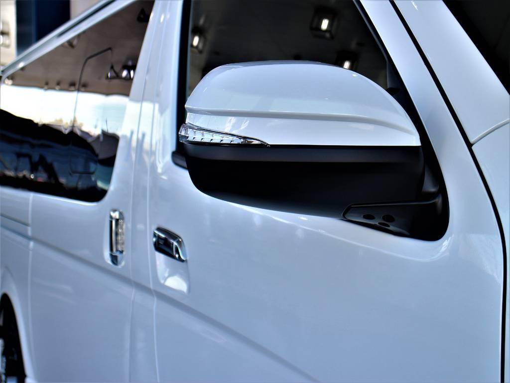 アベストLEDウインカーミラー! | トヨタ ハイエースバン 2.8 スーパーGL ダークプライムⅡ ロングボディ ディーゼルターボ 4WD