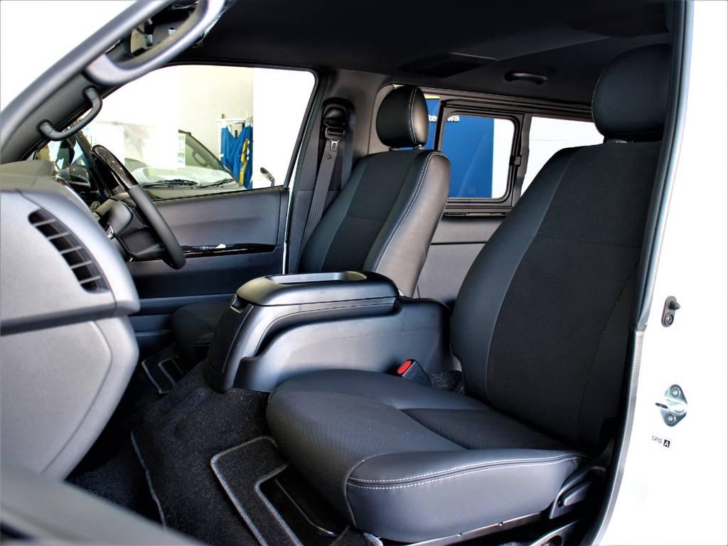 特別仕様車専用内装です! | トヨタ ハイエースバン 2.8 スーパーGL ダークプライムⅡ ロングボディ ディーゼルターボ 4WD