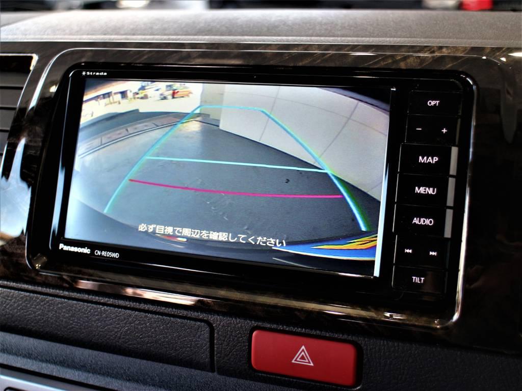 バックモニター連動加工済! | トヨタ ハイエースバン 2.0 スーパーGL ダークプライムⅡ ロングボディ
