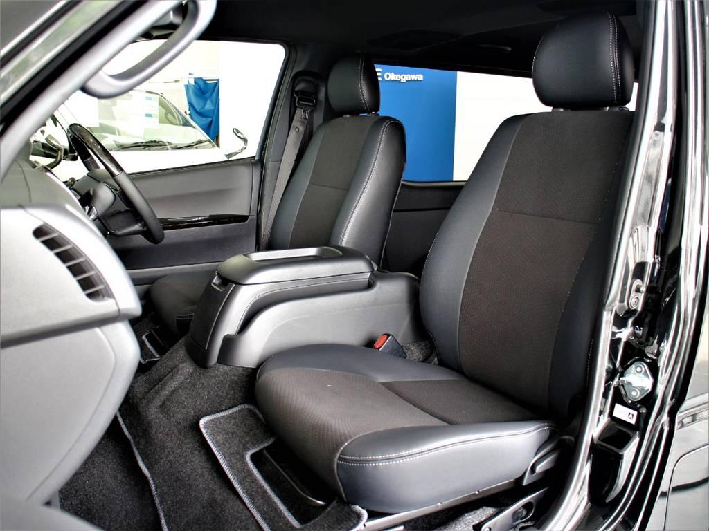 特別仕様車専用シートです! | トヨタ ハイエースバン 2.8 スーパーGL ダークプライムⅡ ロングボディ ディーゼルターボ 4WD アレンジFU-Nスライド内装架装