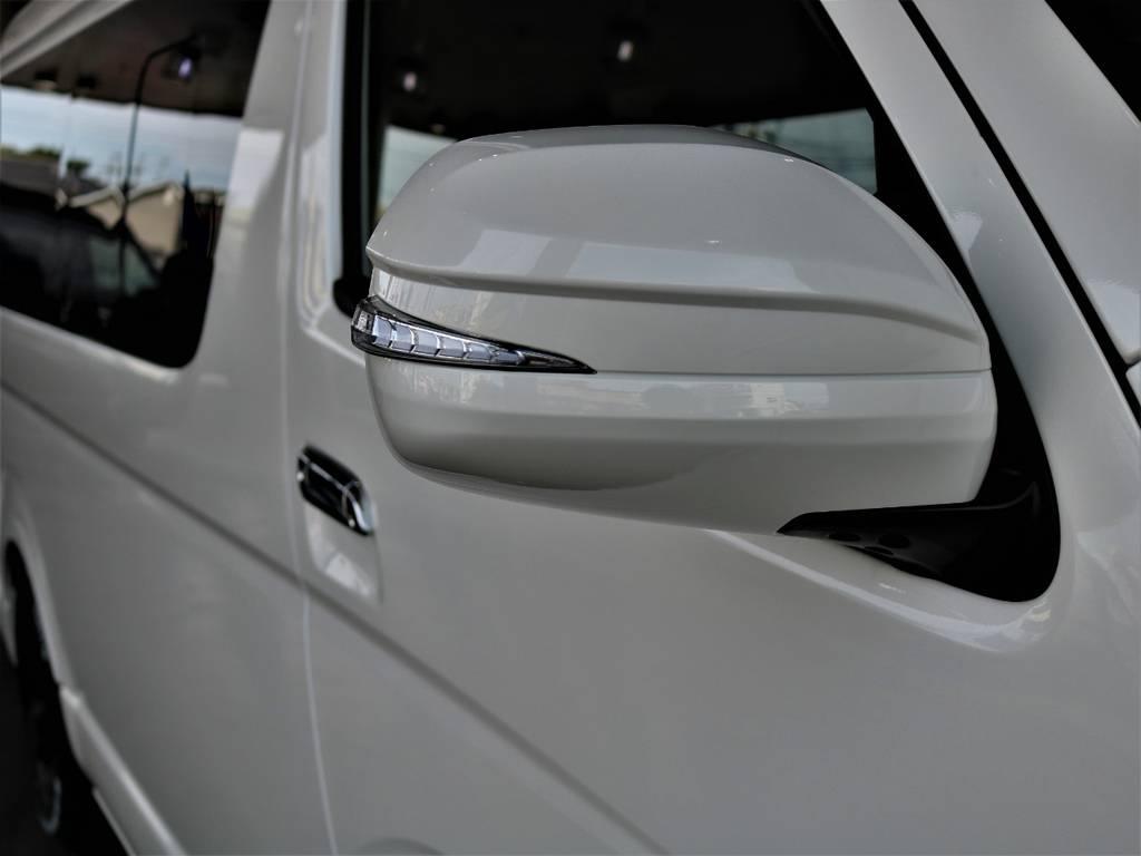 アベストLEDウインカーミラー! | トヨタ ハイエース 2.7 GL ロング ミドルルーフ バージョンⅡ内装架装