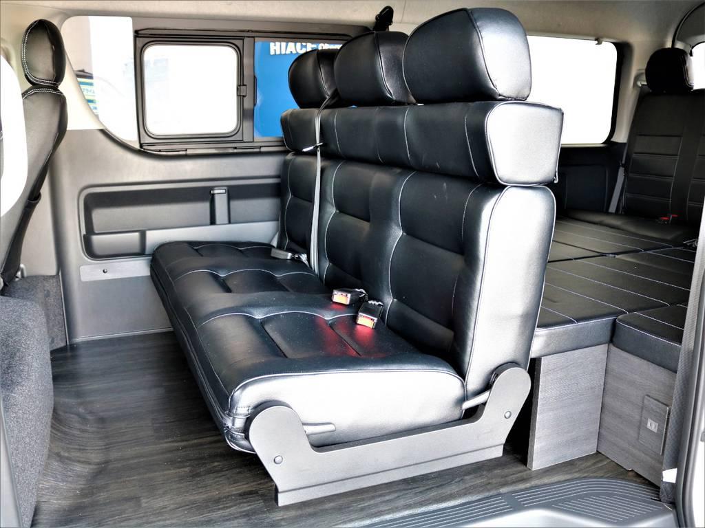 FLEXオリジナルアレンジバージョンⅡ内装架装! | トヨタ ハイエース 2.7 GL ロング ミドルルーフ バージョンⅡ内装架装