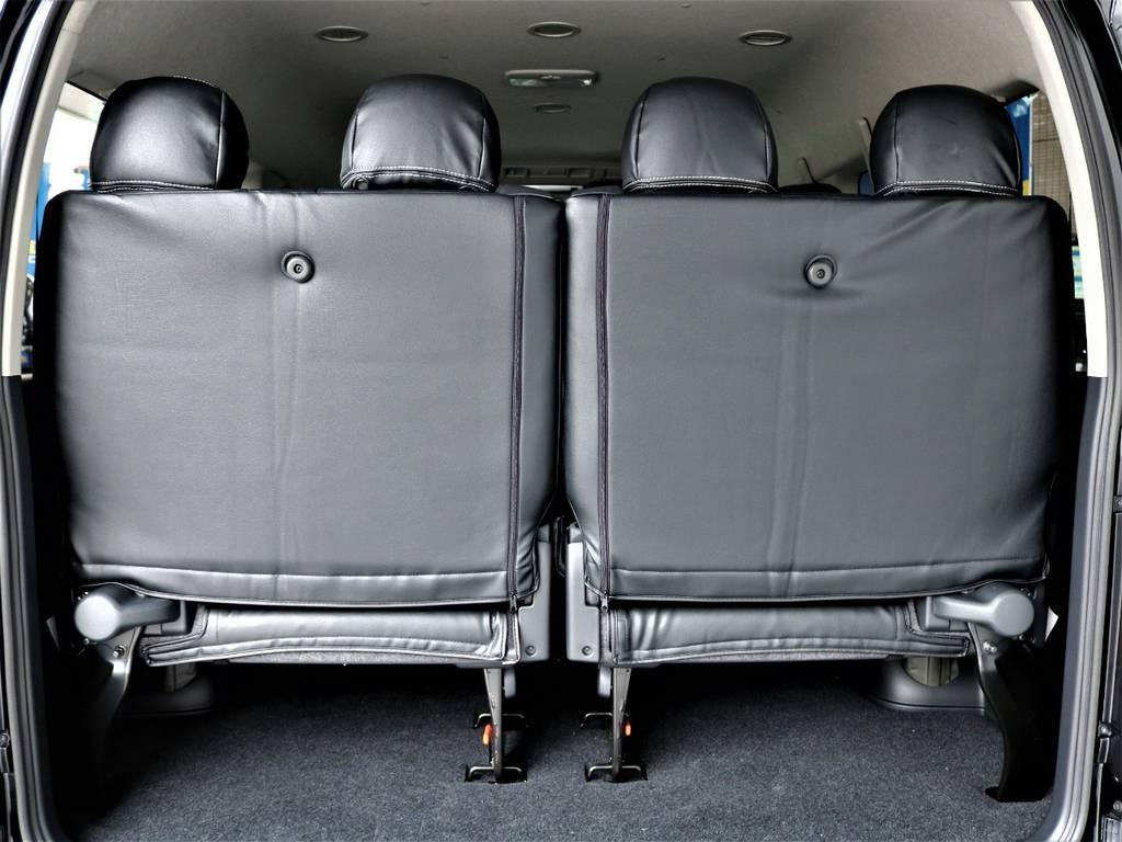 後席4人定員です! | トヨタ ハイエース 2.7 GL ロング ミドルルーフ