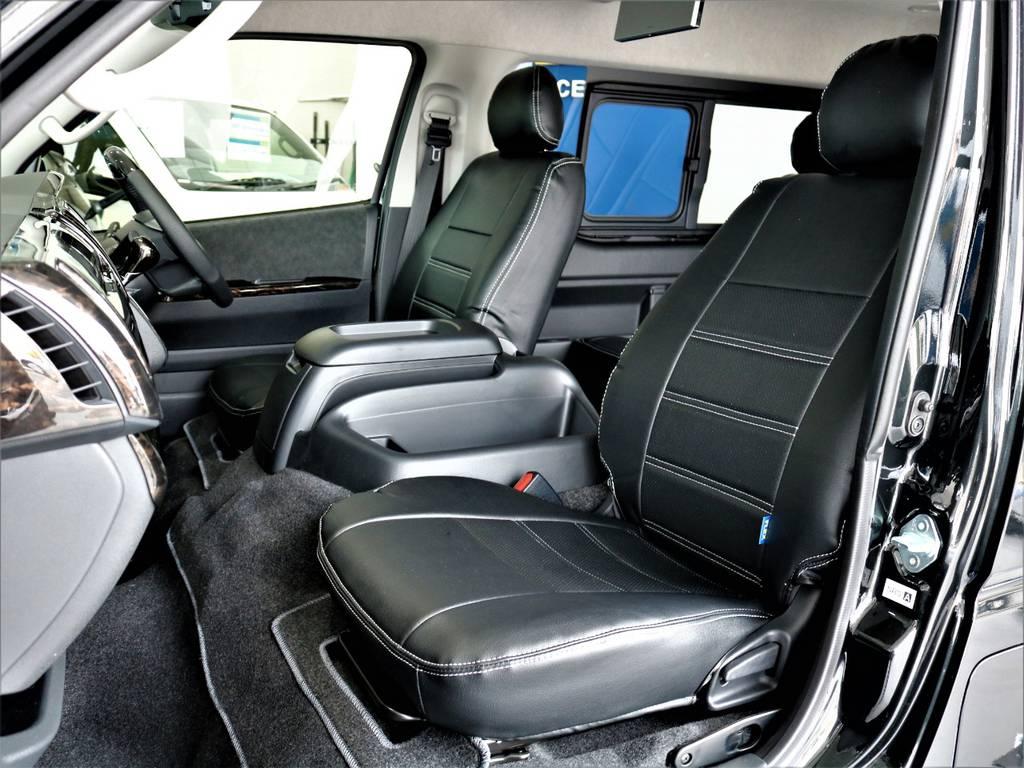 FLEXオリジナル全席シートカバー! | トヨタ ハイエース 2.7 GL ロング ミドルルーフ