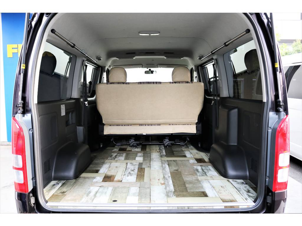 床張りフローリング加工済でお手入れも簡単ですよ!