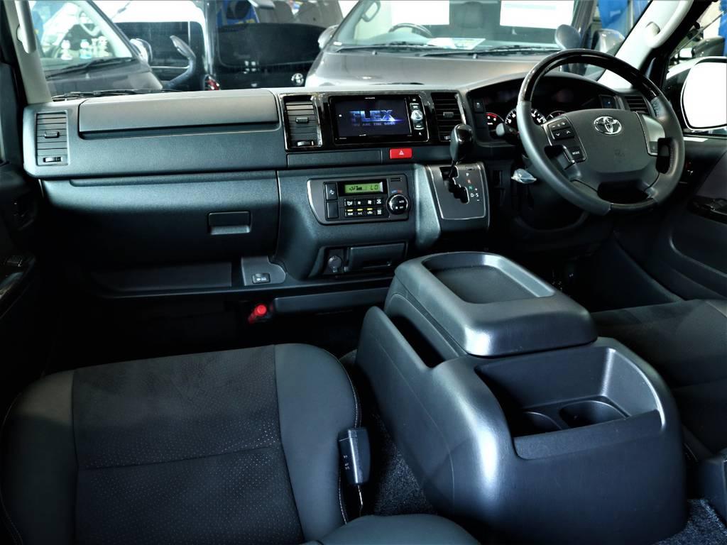 特別仕様車専用内装です! | トヨタ レジアスエース 2.8 スーパーGL ダークプライム ロングボディ ディーゼルターボ