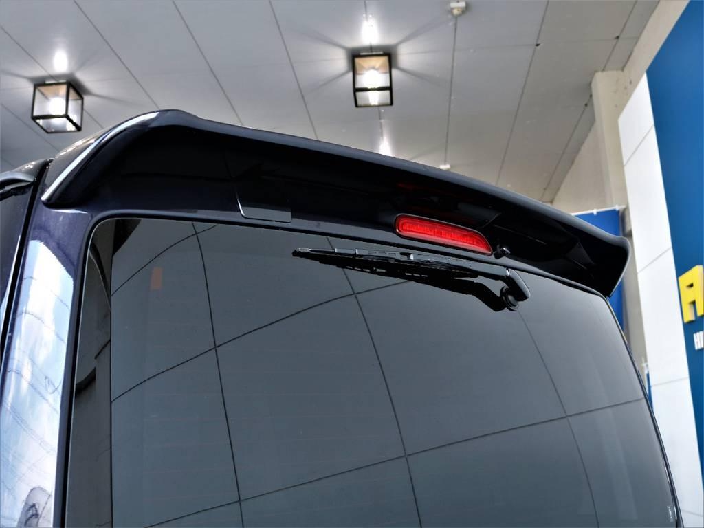 リアスポイラー! | トヨタ レジアスエース 2.8 スーパーGL ダークプライム ロングボディ ディーゼルターボ