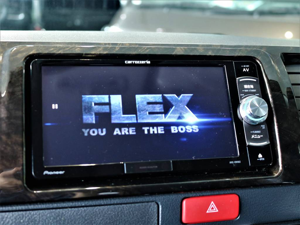 ※音楽録音・DVD再生・フルセグ・Bluetooth接続可! | トヨタ レジアスエース 2.8 スーパーGL ダークプライム ロングボディ ディーゼルターボ