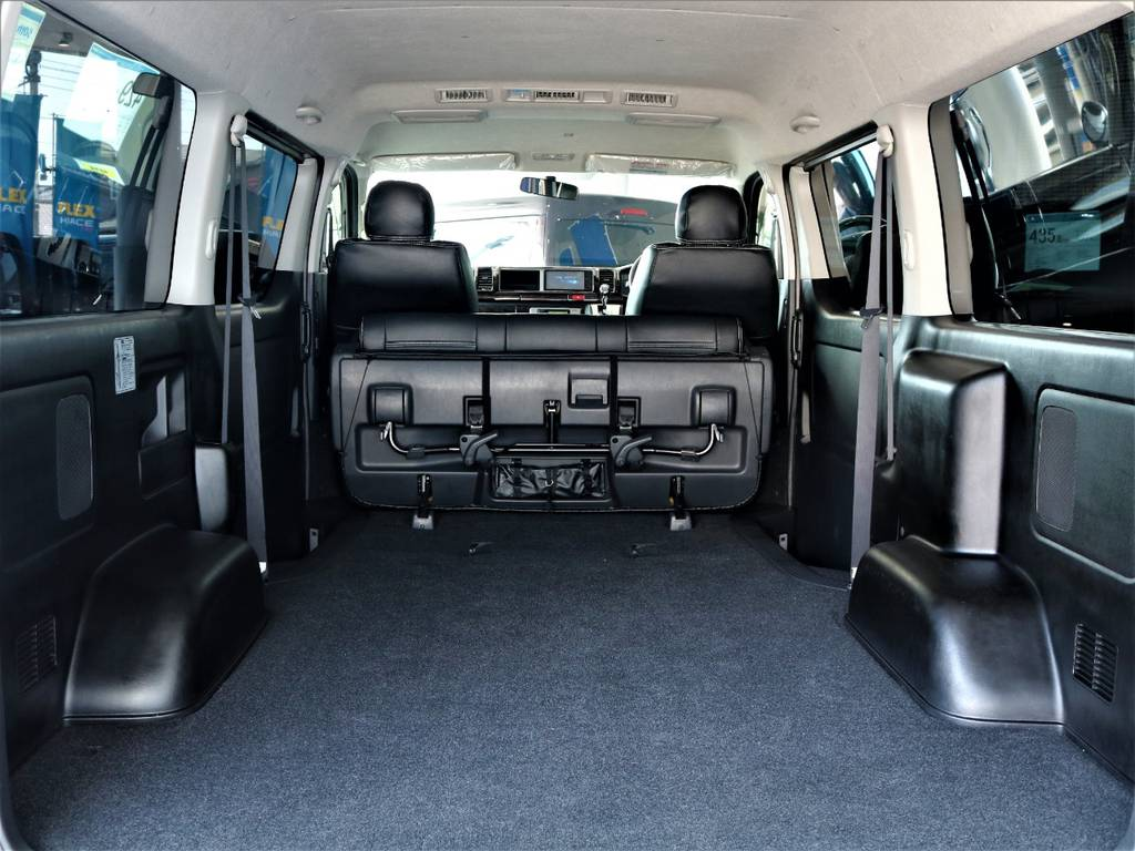 ハイエースならではのラゲッジスペース! | トヨタ ハイエースバン 2.7 スーパーGL ワイド ロング ミドルルーフ 4WD