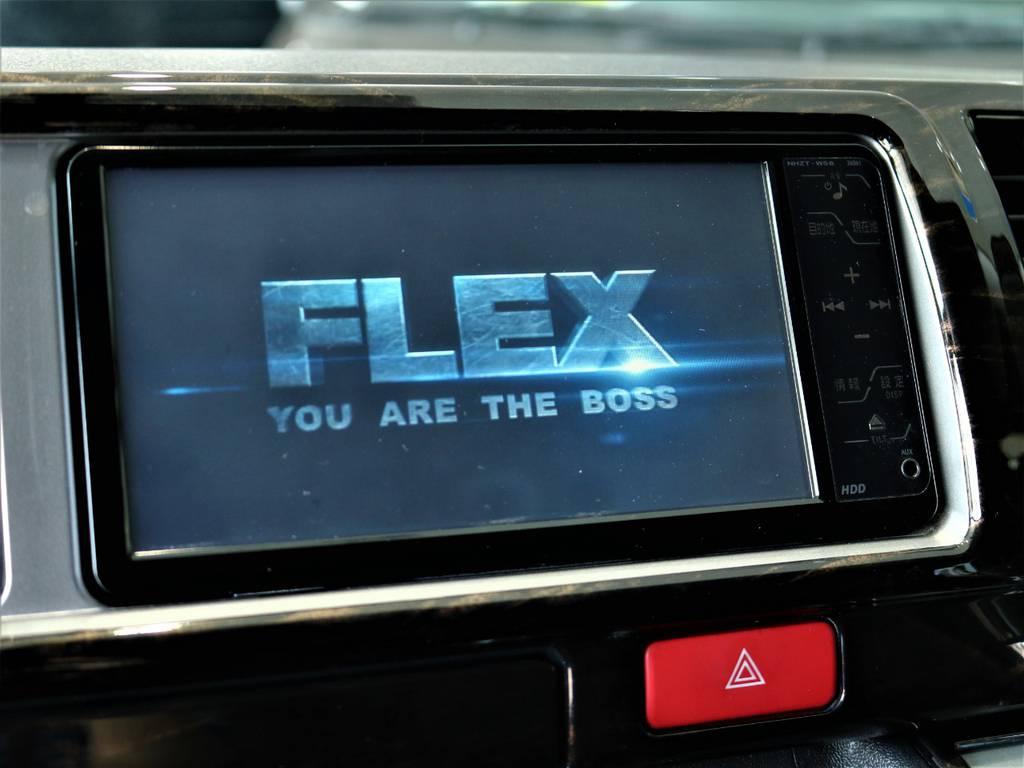 ※音楽録音・DVD再生・フルセグ・Bluetooth接続可! | トヨタ ハイエースバン 2.7 スーパーGL ワイド ロング ミドルルーフ 4WD