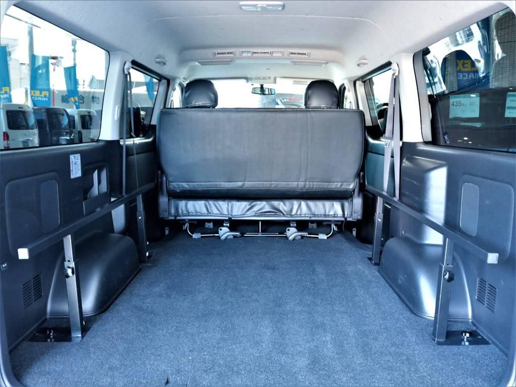 ベッドキット取り外し可能です!   トヨタ ハイエースバン 2.7 スーパーGL ワイド ロング ミドルルーフ 4WD