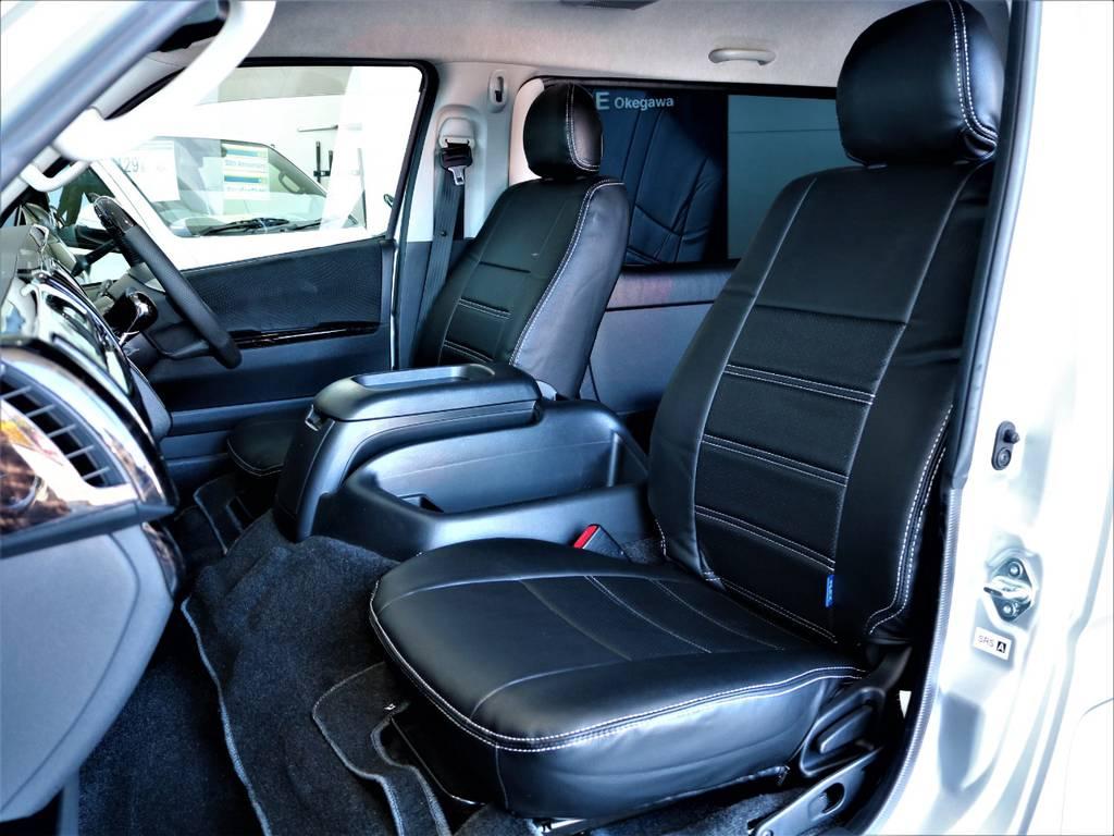 FLEXオリジナル全席シートカバー!   トヨタ ハイエースバン 2.7 スーパーGL ワイド ロング ミドルルーフ 4WD