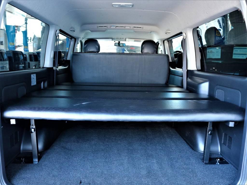 ベッドキット付き!   トヨタ ハイエースバン 2.7 スーパーGL ワイド ロング ミドルルーフ 4WD