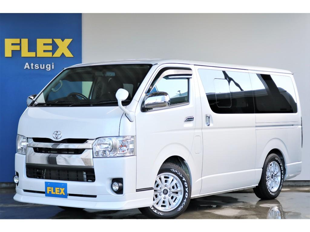 【厳選中古車】ハイエースS-GL 2.0ガソリン2WD