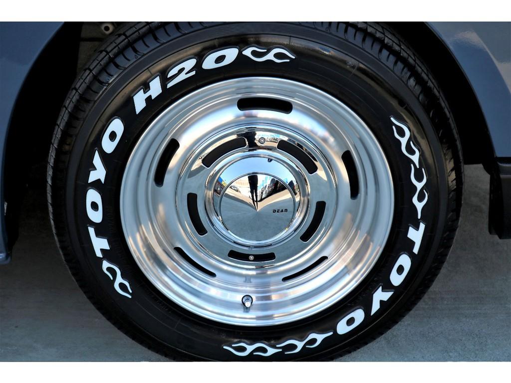 ディーン クロスカントリー 16インチアルミにTOYO H20タイヤを装着!!