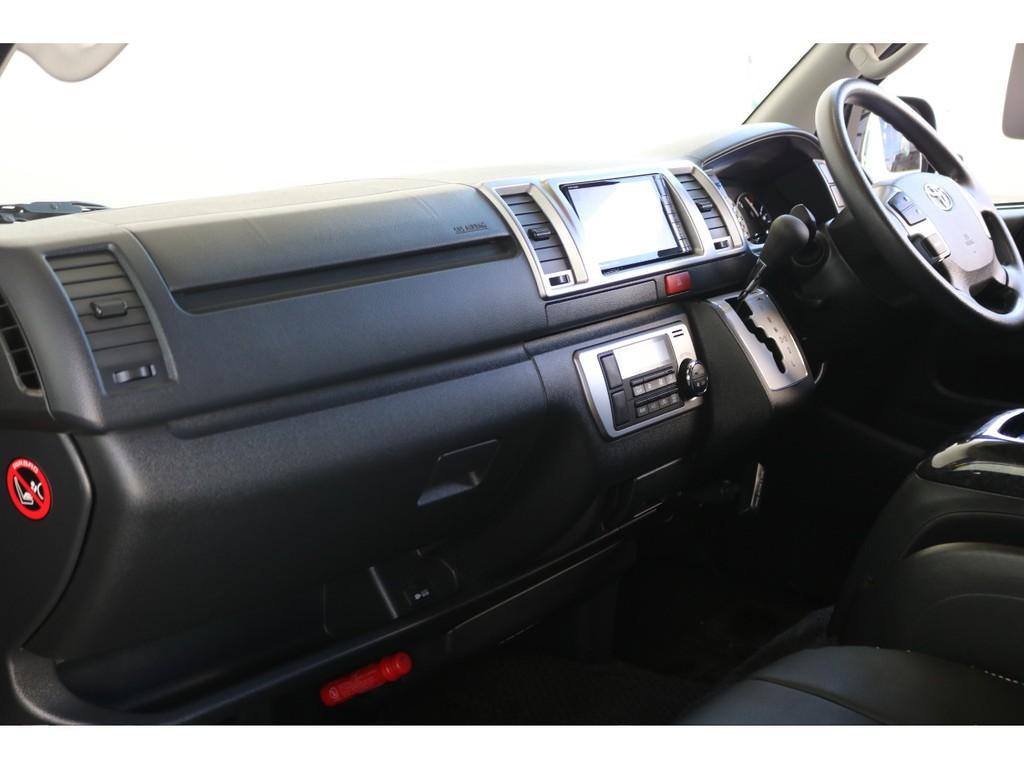 さすが厳選中古車だけあって内装のインパネ周りも非常に綺麗な状態です!