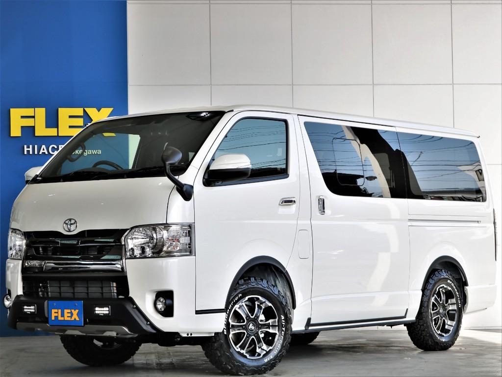 新車 ダークプライムⅡ ディーゼル4WD 小窓付き 四駆らしくカッコよくをテーマに拘りのカスタムが完成です!即納車可能!!