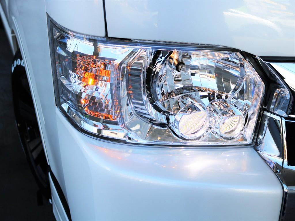 LEDヘッドライト!オートマチックハイビーム!