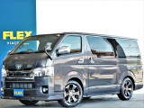 新車ハイエースS-GLダークプライムⅡディーゼルターボ4WD 人気のベッドキット 両側オートスライドドア ETC2.0 即納車可能です!
