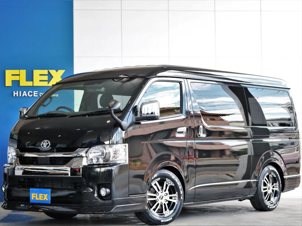 ◎新型新車◎ハイエースS-GLディーゼルターボ2WD ダークプライムⅡ 人気のワイド!両側自動ドア付き♪即納車可能!!