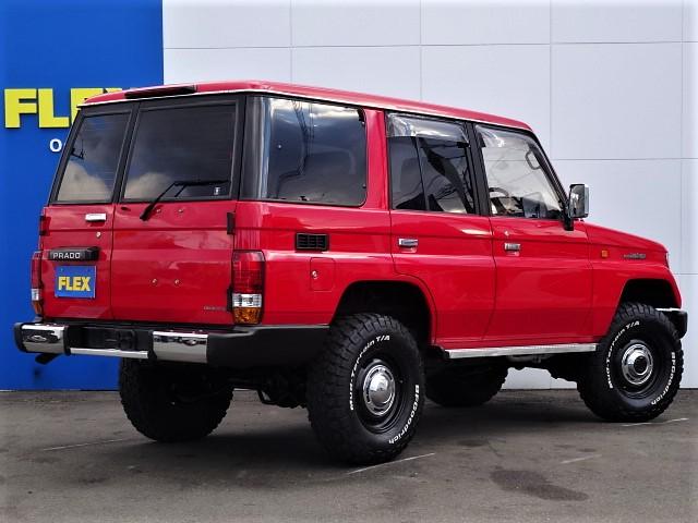 | トヨタ ランドクルーザープラド 3.0 SXワイド ディーゼルターボ 4WD ナロー換装