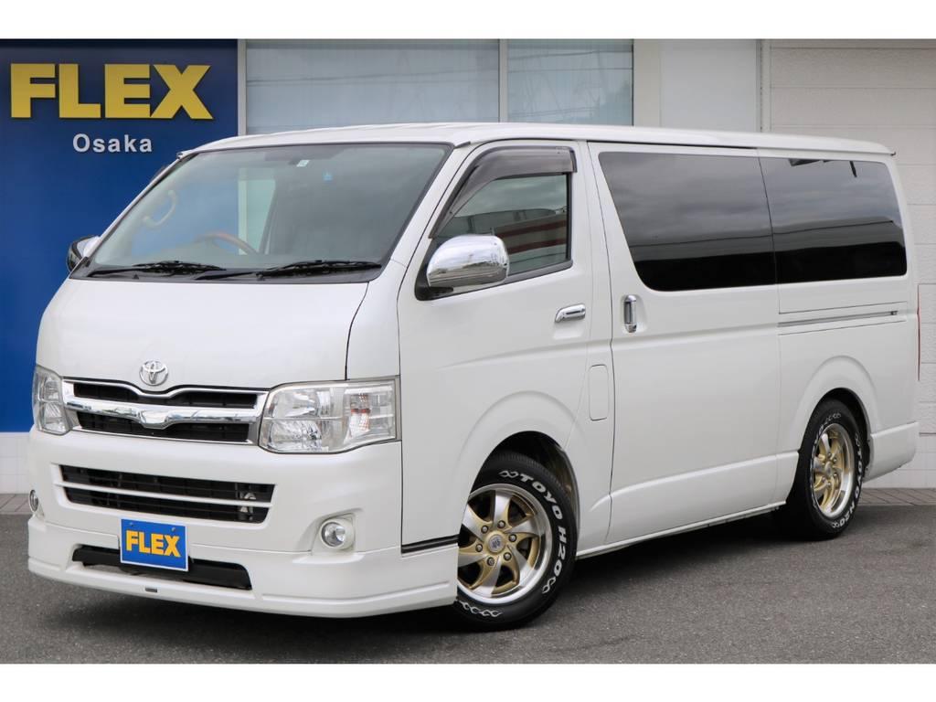 現車は大阪店在庫ですので、お求め&お問い合わせは大阪店までお願いします。全国納車も大歓迎!