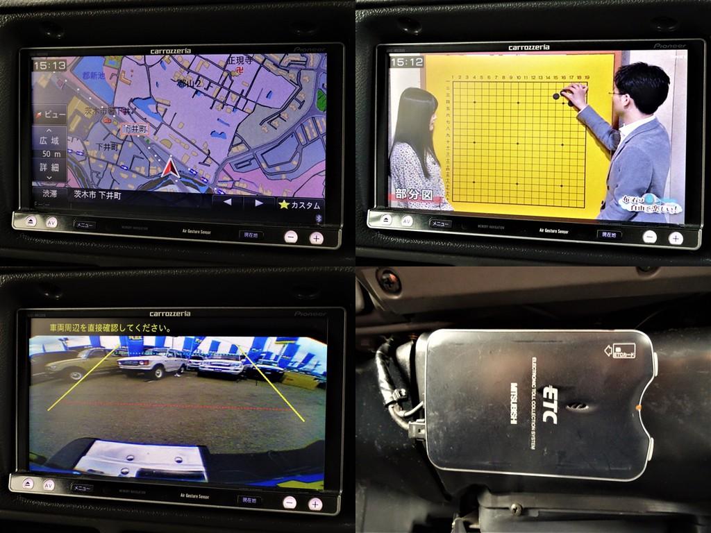 フルセグナビにBカメラ、ETCと便利アイテムもばっっちりです!!