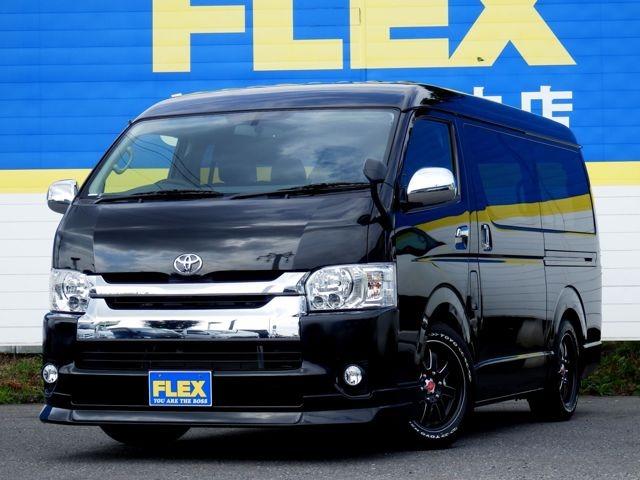 【FLEX 内装架装 Ver3】新型VSC&TRC付モデル 人も荷物も・・・ アウトドアにも大活躍の1台をご案内 フルセグナビセット