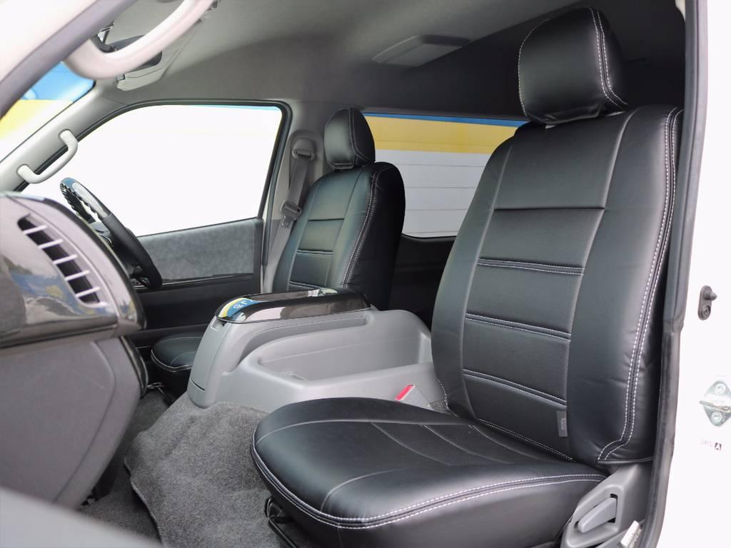 奥様やお子様、ご友人など・・・大切な方も安心してお乗せ頂けます!   トヨタ ハイエース 2.7 GL ロング ミドルルーフ Coast Line 自動ドア