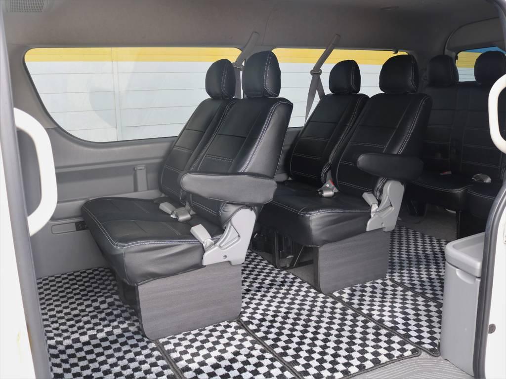   トヨタ ハイエース 2.7 GL ロング ミドルルーフ Coast Line 自動ドア