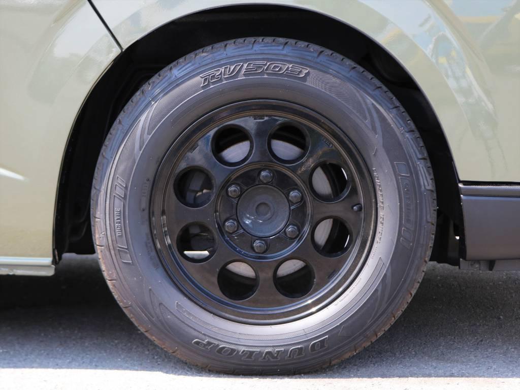 安心の日本製DUNLOPタイヤは車検対応品♪   トヨタ ハイエース 2.7 GL ロング ミドルルーフ Coast Line 自動ドア