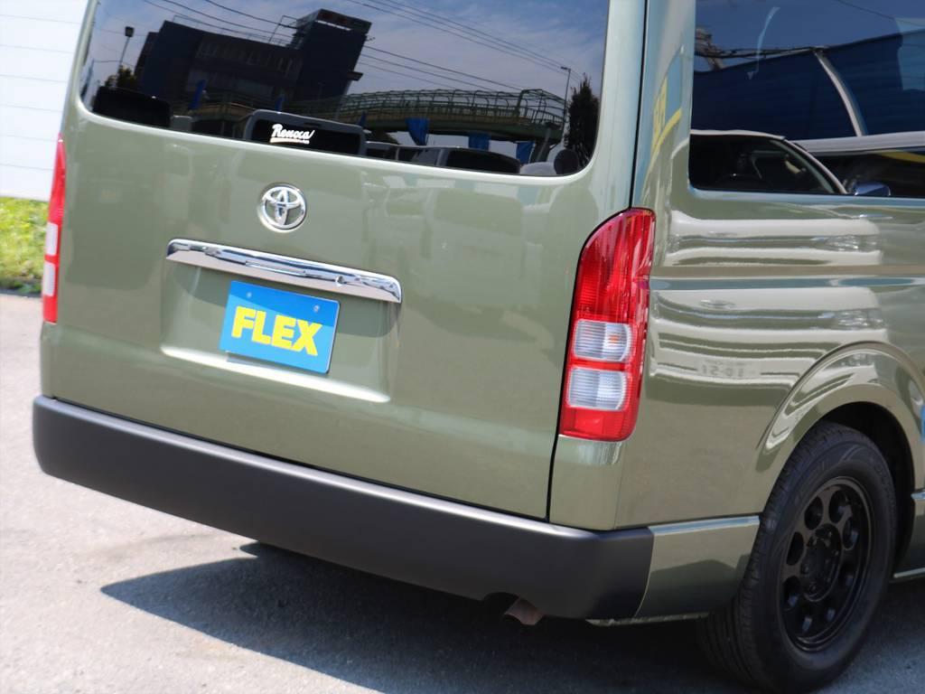 """『旧くて新しい』FLEXがご提案する""""リノベーション・カー=Renoca""""の一つの形です!   トヨタ ハイエース 2.7 GL ロング ミドルルーフ Coast Line 自動ドア"""