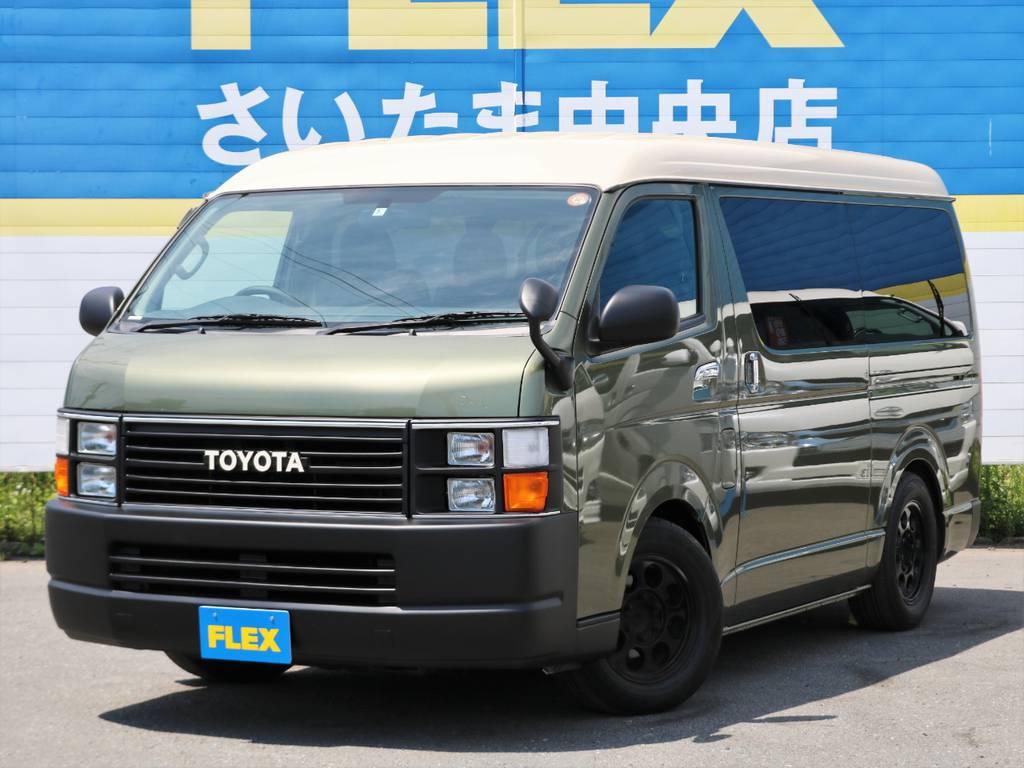 """平成22年式ハイエースワゴンGL!程度良好車両をベースにFLEX Renoca CoastLines仕様にNewカスタム★☆★ FLEXがご提案する""""リノベーションカー""""の一つの形です!"""