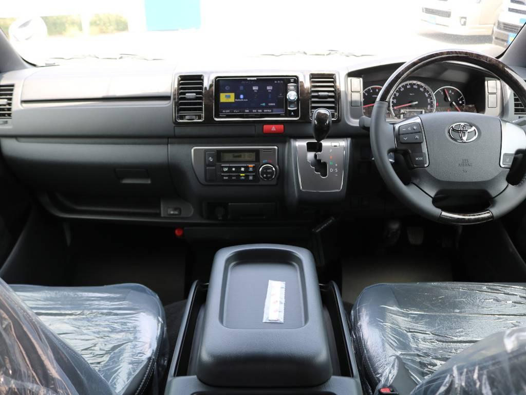ダークプライム用シートカバーも承ります! | トヨタ ハイエースバン 2.8 スーパーGL ダークプライムⅡ ロングボディ ディーゼルターボ