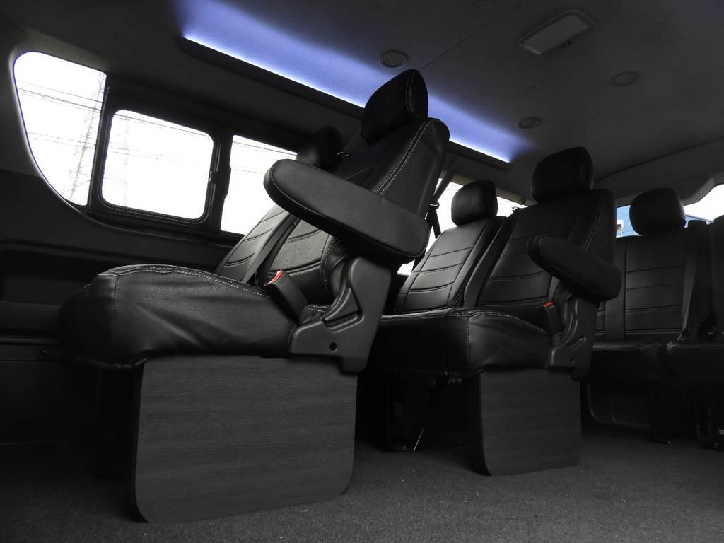 ボディーコーティングやスモークフィルムなど細かなオプションなども取り揃えております! | トヨタ ハイエース 2.7 GL ロング ミドルルーフ ギブソンフルエアロ