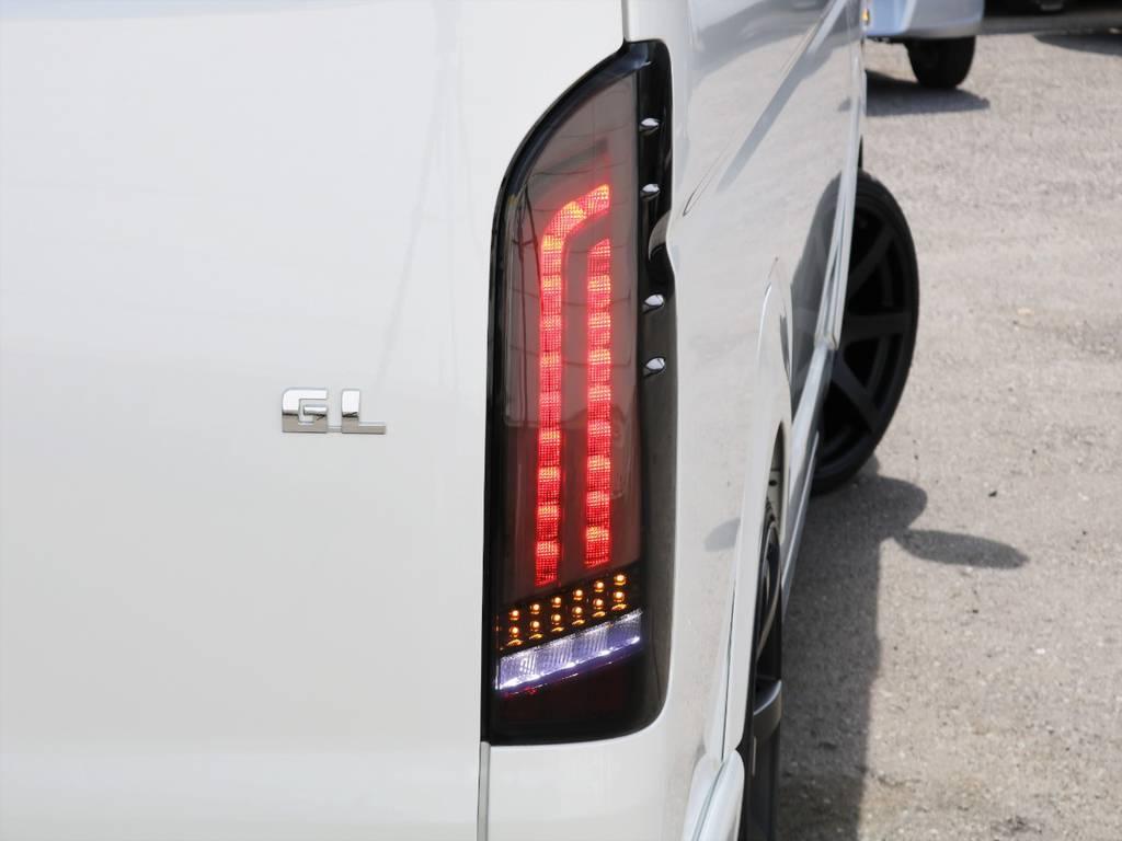 ヴァレンティーREVOテール!シーケンシャルモード搭載! | トヨタ ハイエース 2.7 GL ロング ミドルルーフ ギブソンフルエアロ