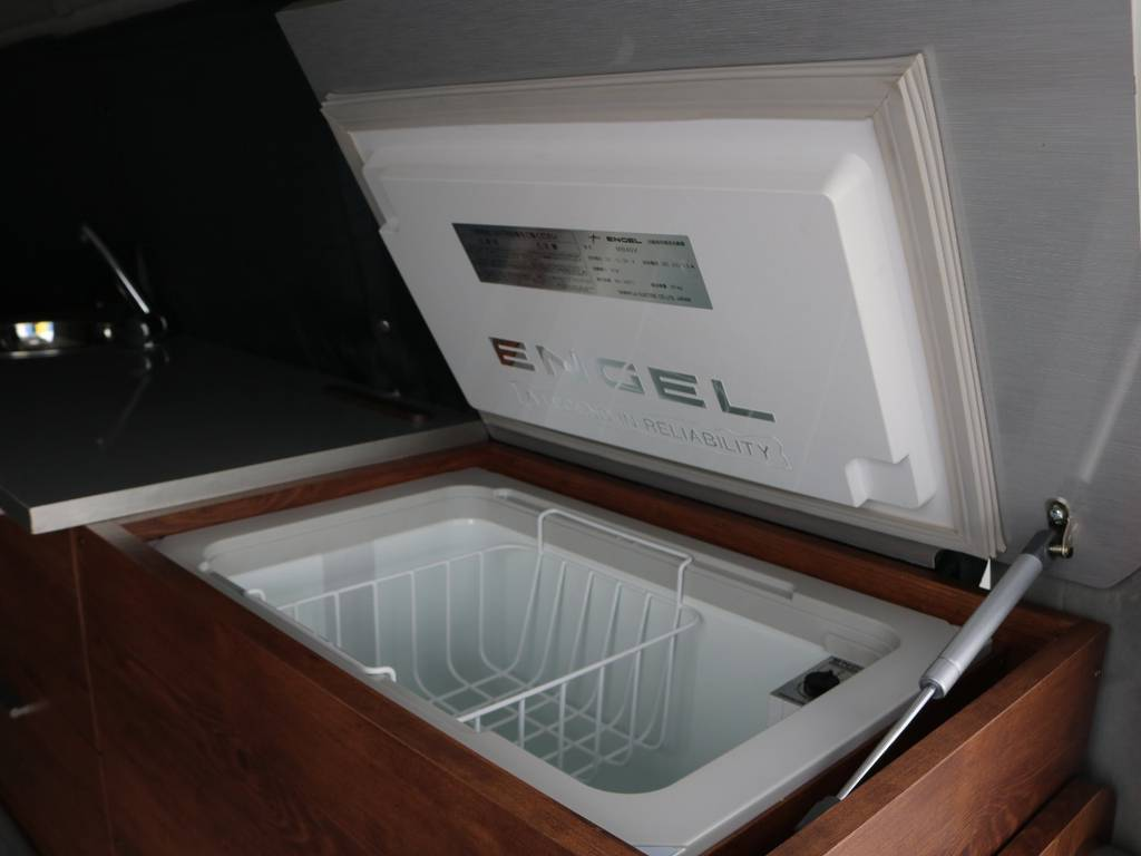 出先では欠かせない冷蔵庫も完備です♪