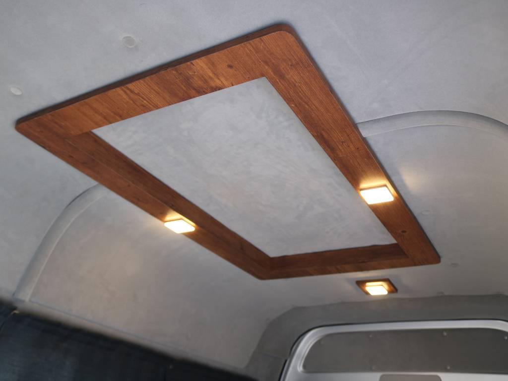 天井、壁面、断熱処理済みです!