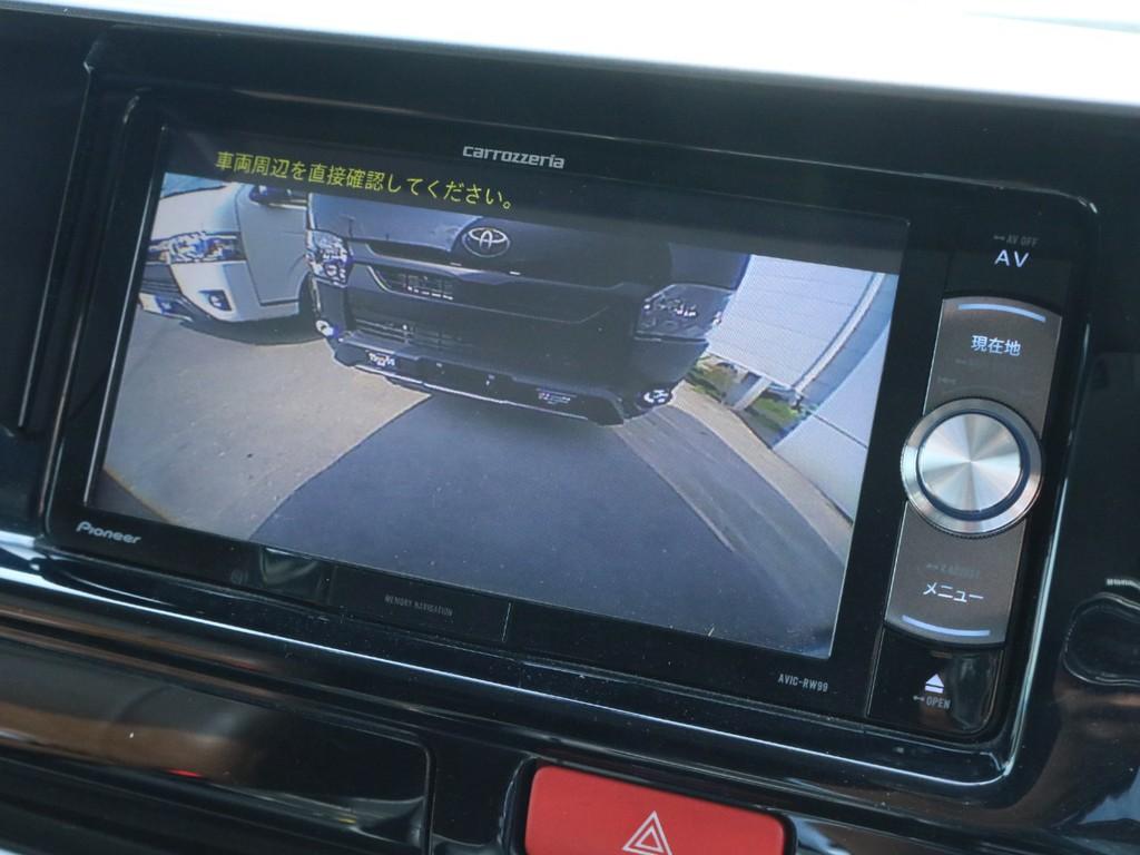 運転も安心なバックカメラも御座います!!
